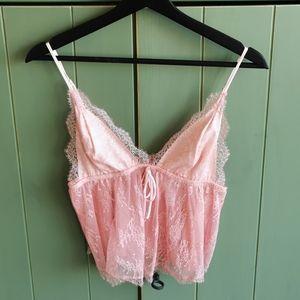 Victoria's secret lace lingerie tank camisole top